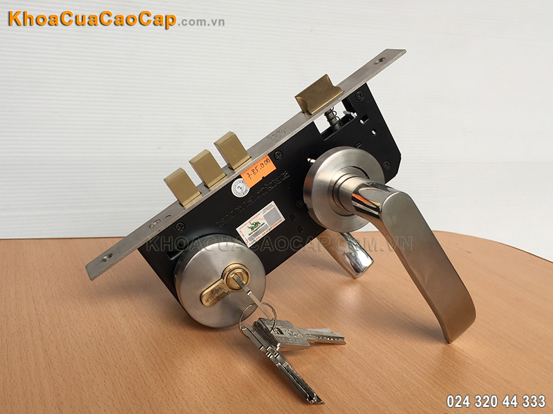 Khóa tay gạt inox phân thể SSPT-8510